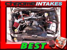 K&N+RED 00-10 DODGE DAKOTA/DURANGO/RAM 1500 3.7L V6 4.7L V8 AIR INTAKE KIT S