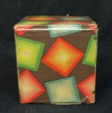 Antique Folk Art Colorful Jack in the Box Works!