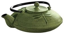 Sierra Cast Iron Pot, Green (without Mesh Loose Tea Infuser )