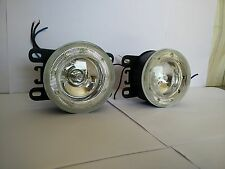 Fog Lamp with Integrated Ring Shape 9 LED DRL for Maruti Suzuki Vitara Brezza