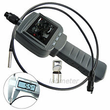 "5.5mm Inspection Mini Camera Endoscope Borescope 2.4"" HD LCD Engine Inspection"