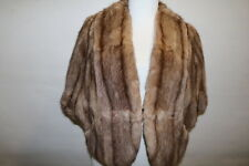 1950's Mink Cape in light Brown by Ideal Fur Company Manchester Lot 269
