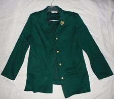 NEW Alfred Dunner Size 14 Womens Dark Green Dress/Suit Jacket