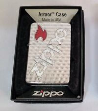 Zippo Lighter Armor Case Bolted Polished Chrome 2008 New in box