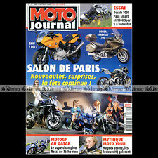 MOTO JOURNAL N°1682 DUCATI PAUL SMART HONDA DEAUVILLE BOXER BIKES MOTO TOUR 2005
