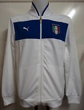 ITALY 2012/13 WHITE TRACK JACKET BY PUMA SIZE LARGE BRAND NEW WITH TAGS
