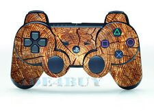 New WOOD GRAIN SKIN STICKER for PS3 REMOTE CONTROLLER PLAYSTATION 3 PS3 FreeShip