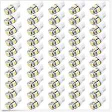 100PCS White T10 Wedge 5-SMD 5050 LED Light bulbs W5W 2825 158 192 168 194 New