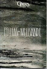 PELLEAS ET MELISANDE   OPERA NATIONAL DE PARIS 1996 1997
