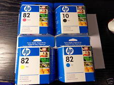 4 x Original Ink HP DesignJet 500 800 / C4844A C4911A C4912A C4913A je 69ml