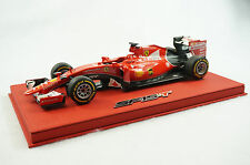 1/18 BBR FERRARI SF15-T G.P SINGAPORE WINNER VETTEL DELUXE RED LEATHER LE 10 MR
