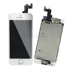 White Touch Screen Digitizer LCD Display Full Replacement Assembly for iPhone 5S