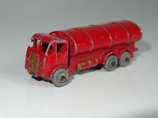 (M) lesney matchbox ERF ROAD TANKER ESSO - gold trim small decal - 11