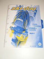 SKIDOO  PARTS CATALOG  MANUAL 2002 MACH Z