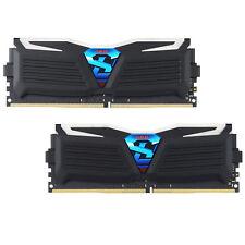 PC Memory 8Gb (4GBx2) Geil Super Luce DDR4 3000Mhz Ram GLW48GB3000C15ADC