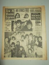 NME #1087 NOVEMBER 11 1967 MONKEES MIRIAM MAKEBA ANITA HARRIS FOUNDATIONS WHO