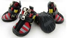 Dog / Cat Shoes Zipper Protective Waterproof Neoprene Running Boots Paws Injury