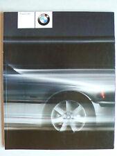 Prospekt BMW Programm 2001, 1.2001, 90 S. mit M3, M5, Z3, M roadster/Coupe, Z8