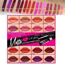 U Pick any 3 L.A. LA Girl Ultra Matte Lip Gloss  LIPSTICK Matte Finish Pigment