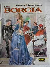 Los Borgia num.1,Manara & Jodorowsky,Ed.Norma 2005