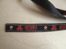 Defqon.1 Anhänger Necklace kette 1 M Bracelet Entrance Year 2008 Qlimax Q dance