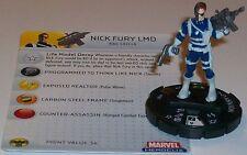NICK FURY LMD #100 Captain America HeroClix BIBTB LE
