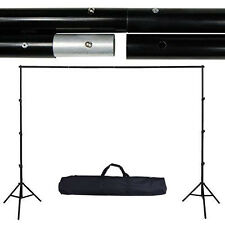 10Ft Collapsible Background Support Stand Photo Backdrop Crossbar Kit