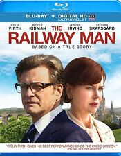 The Railway Man [Blu-ray + UltraViolet] New DVD! Ships Fast!