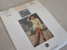 Vintage Couture Expressions BNIP S Elegant Sheer Gloss Nougat Tights with Lycra