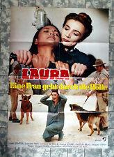 LAURA * Laura Gemser - A1-FILMPOSTER Kino - German 1-Sheet ´82 BRUNO MATTEI