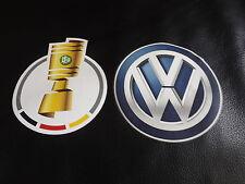 DFB Pokal Patch SET2016/ 2017 Trikot Patch Neu und Original Bayern Schalke