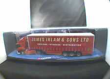 Corgi  75401 Leyland Daf Curtainside James IRLAM truck 1/50 neuf boîte/boxed
