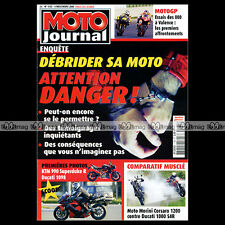 MOTO JOURNAL N°1735 HARLEY XR 750 1200 KTM 990 SUPERDUKE DUCATI MONSTER 1000 S4R