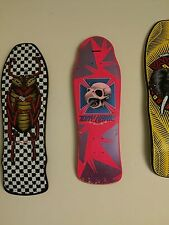 Original Tony Hawk Fluro Pink Powell Peralta Skateboard Deck Old Vintage NOS OG