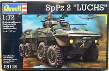 Revell 1/72 scale SpPz 2 Luchs German Cold War Army Military Armor Model Kit