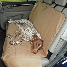 Petego Emanuele Bianchi  Dog Car Auto Pet Rear Seat Cover Protector TAN