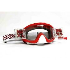 RIP N ROLL FULLY LOADED HYBRID MOTOCROSS ENDURO MX XL GOGGLES RnR - RED