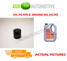 DIESEL OIL FILTER + FS 5W40 ENGINE OIL FOR ROVER 420 2.0 86 BHP 1995-99