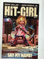 HIT-GIRL # 4 MARVEL ICON - KICK ASS MARK MILLAR,JOHN ROMITA JR. FIRST PRINT