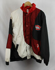 Vintage Montreal Canadiens Chalk Line Jacket Sz Xl Mesh Black White Red