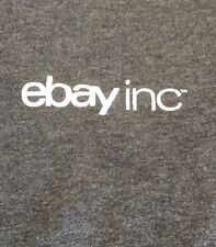 Ebay Inc. Campus Team Adult Small T Shirt Charcoal Short Sleeve Ebayona Official