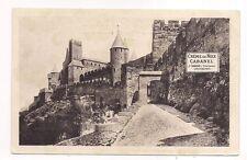 la cité de carcassonne ,porte d'aude