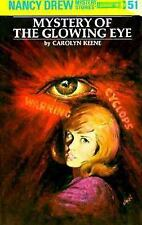 Nancy Drew Mystery of the Glowing Eye Book #51 by Carolyn Keene 1999 New Hb