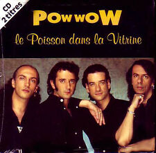 ★☆★ CD Single POW WOW Le poisson dans la vitrine 2-Track CARD SLEEVE NEUF  ★☆★