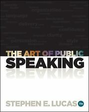 The Art of Public Speaking with Connect Plus Access Card by Stephen Lucas...
