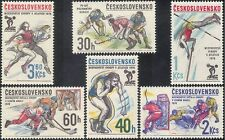 Czechoslovakia 1978 Ice Hockey/Shot Putt/Pole Vault/Athletics/Sports 6v (n44138)