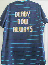 Derby County 2014-2015 Away Derby Now Always Football Shirt Large /40416
