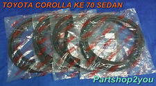 79-87 TOYOTA Corolla  KE70  TE71 sedan 4 door seal weatherstrip NEW