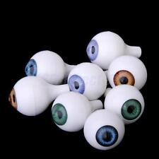 8 Lot Assorted Doll Animal Puppet Craft Plastic Safety Eyes Eyeballs 12mm Round