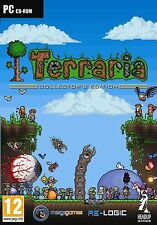 TERRARIA COLLECTORS EDITION - DIG FIGHT EXPLORE - PC ADVENTURE GAME DVD CASED